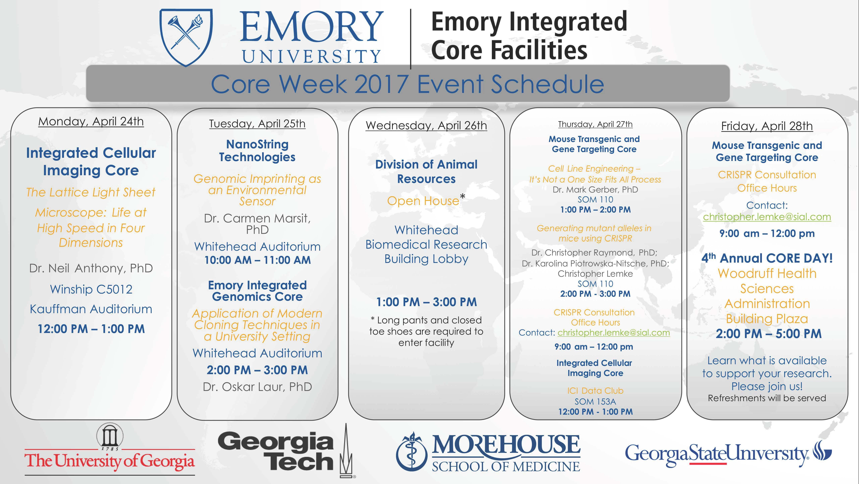 Core Week Flyer