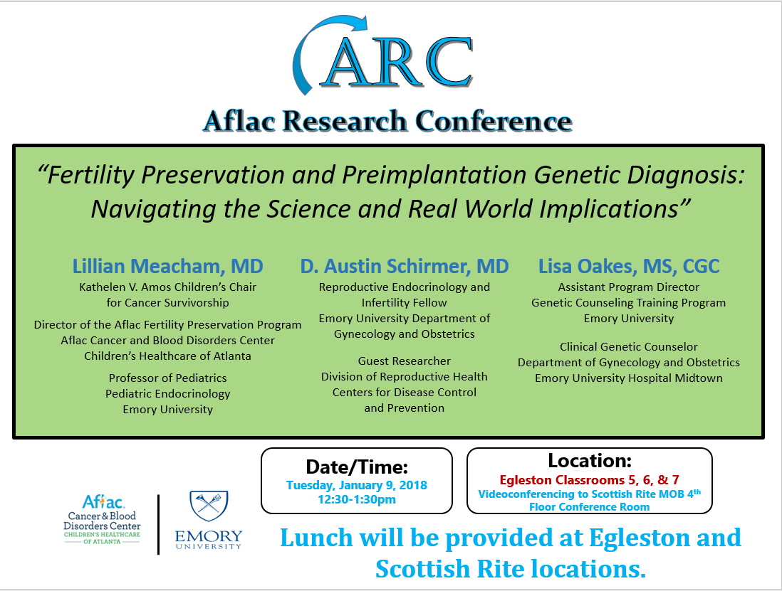 Aflac Research Conference (ARC) - Lillian Meacham, MD