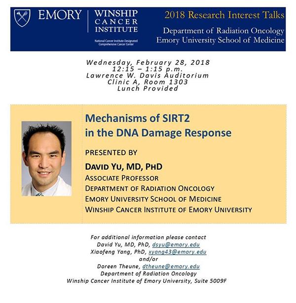 Research Interest Talk Flyer