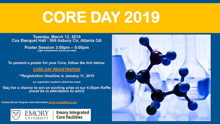 Flyer - Emory Core Day 2019